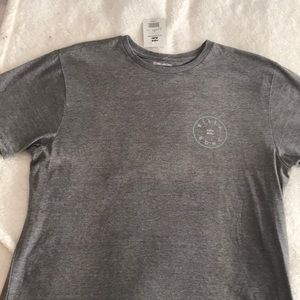 Billabong Gray Mens T-shirt New with tags